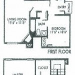 Amberly Village Apartment Floor Plan