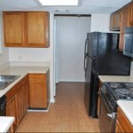 Amberly Village Apartment Kitchen
