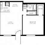 Bay Island Apartment Floor Plan
