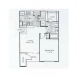 Belmont at Duck Creek Apartments Floor Plan