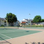 Boulders Apartments Tennis Court