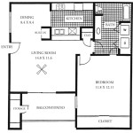 Gateway Place Apartment Floor Plan