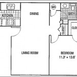 Holiday Park Apartment Floor Plan