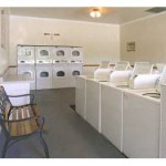 Holiday Park Apartment Laundry Room
