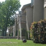 Lake Colony Townhomes Apartment Building View