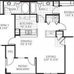 Savoy of Garland Apartment Floor Plan