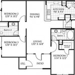 Savoy of Garland Apartment Floor Plan
