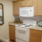 Savoy of Garland Apartment Kitchen