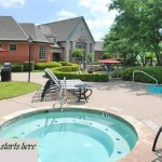 Sevenoaks Apartment Pool Area