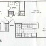 Shiloh Oaks Apartment Floor Plan
