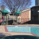 Shiloh Oaks Apartment Pool View